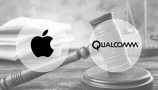 Duelo de patentes entre Apple y Qualcomm