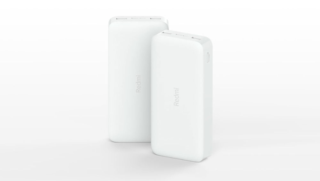 Redmi Power Bank 10000mAh y 20000mAh