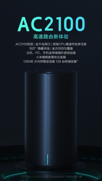 Xiaomi Router Gaming AC2100